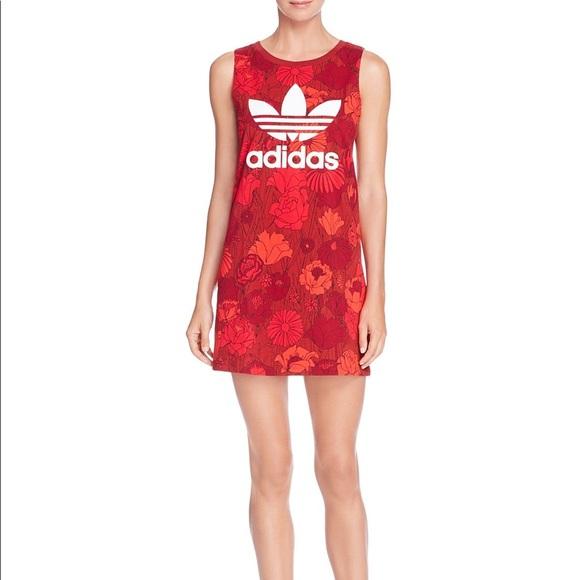 adidas tank top dress